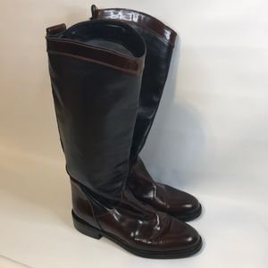Rugerri Italian leather riding boot size 40